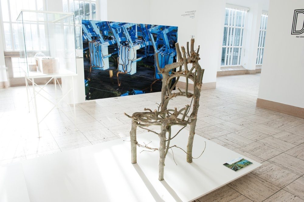 The Wiltshire Chair, on display in Rotterdam