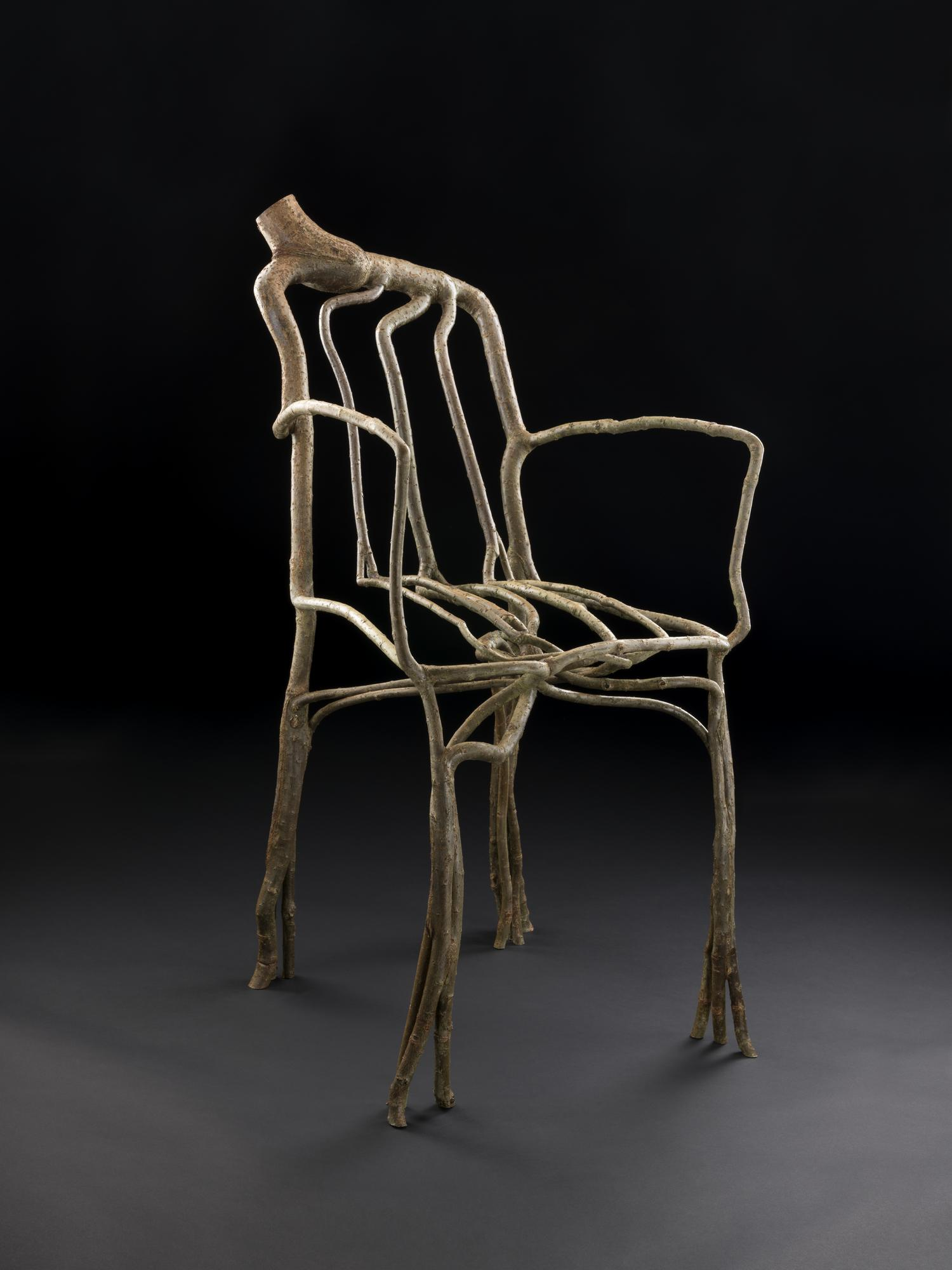 A Willow Armchair Model, Now In The Permanent Collection At The National  Museum Of Scotland