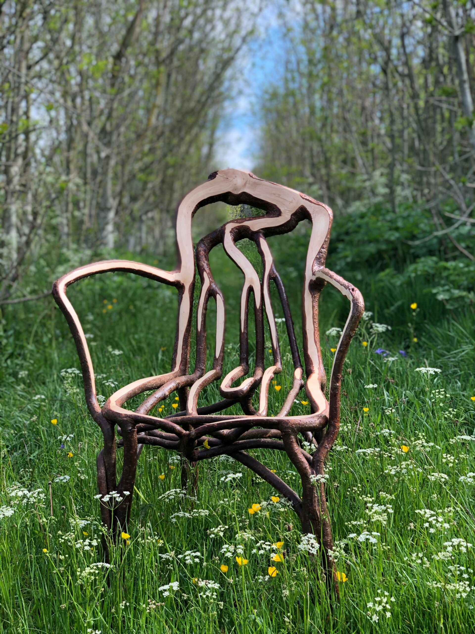 The Gatti Chair in the Orchard
